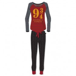 Pijama Harry Potter Hogwarts Express Platform 9 3/4 adulto chica