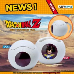 TAZA DRAGON BALL 3D Y CALOR NAVE VEGETA