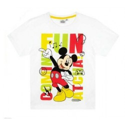 Camiseta Mickey Mouse blanca