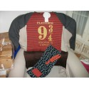 Pijama Harry Potter Hogwarts Express Platform 9 3/4 adulto chica