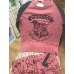 Pijama Harry Potter Hogwarts adulto chica