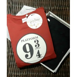 Pijama Harry Potter Hogwarts Express Platform 9 3/4 adulto