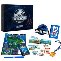 Kit Deluxe Jurassic World Ingles