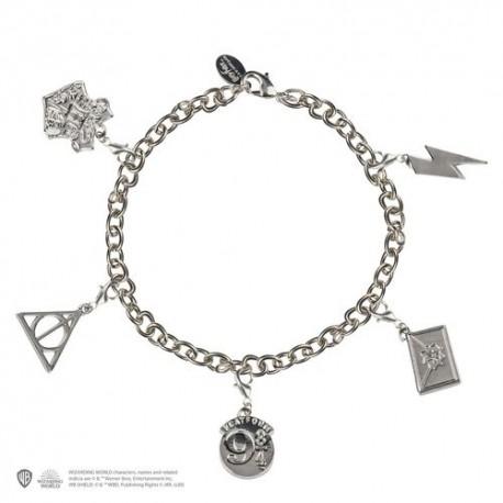 Pulsera con charms Harry Potter Iconos