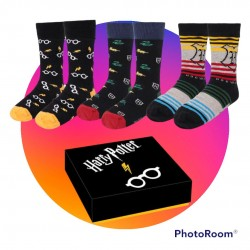 Pack 3 calcetines Harry Potter mujer